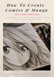 How To Create Comics & Manga Free Ebook