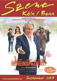 Szene Köln-Bonn, Ausgabe 09.2017