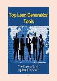Top Lead Generation Tools