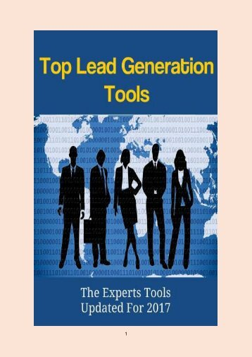 Top Lead Generation Tools