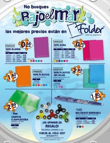 Catálogo Escolar Folder 2017