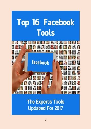 Top 16 Facebook Tools