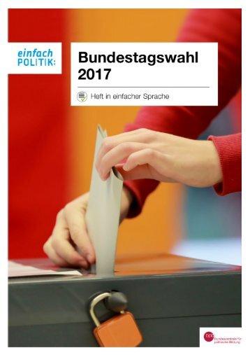 Bundestagswahl_2017 Broschuere
