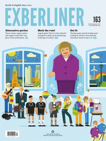 EXBERLINER Issue 163, September 2017