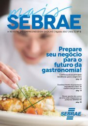 REVISTA MAIS SEBRAE AGOSTO 2017
