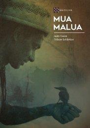 Mua Malua - Tribute Exhibition Catalogue