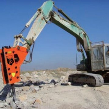 How to use TR hydraulic breaker without damage the excavator