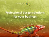 Professional design solutions for your business