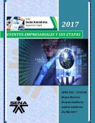 EVENTOS EMPRESARIALES Y SUS ETAPAS - CARTILLA