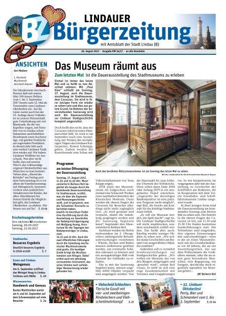 26.08.2017 Lindauer Bürgerzeitung