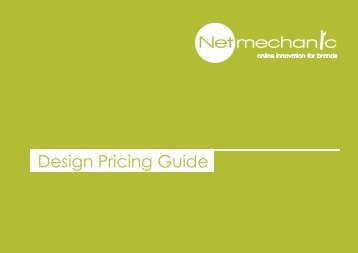 Netmechanic - design price guide
