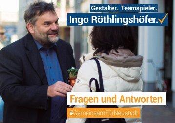 Papier Wahlkampfhelfer Ingo Röthlingshöfer