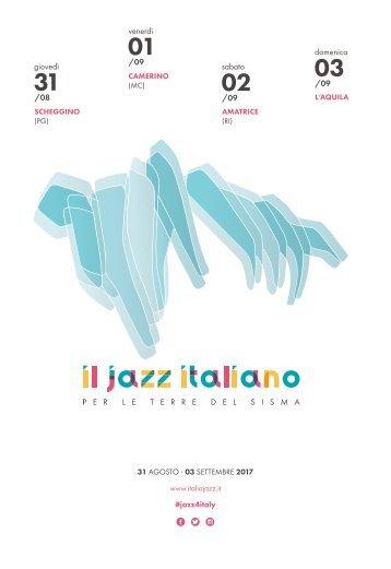 Il Jazz Italiano per le Terre del Sisma - 31 agosto_3 settembre 2017