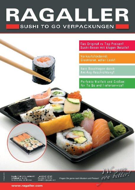 Ragaller Sushi To Go-Verpackungen