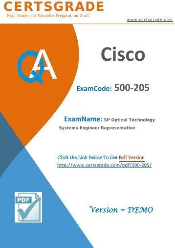 500-205 Study Material