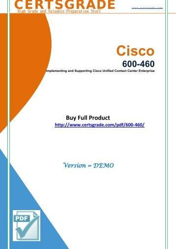 600-460 Study Material