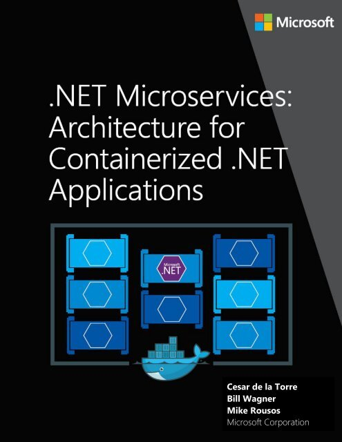 Net Microservices Architecture For Containerized Net Applications Microsoft Ebook