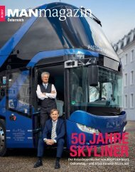 MANmagazin Ausgabe Bus 1/2017 Österreich