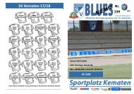 Blues News 239: SV Kematen vs. SV Telfs