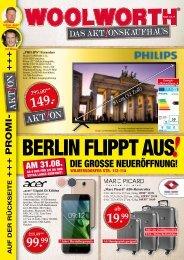 Woolworth Neueröffnung in Berlin!