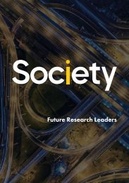 Future Research Leaders Booklet (Society US Inc)