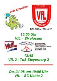 VfL gegen Husum