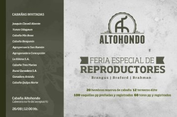 Catalogo Altohondo 2017