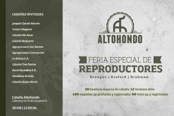 Catalogo Altohondo 2017