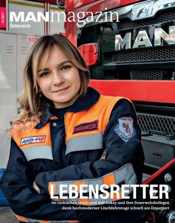 MANmagazin Ausgabe Lkw 1/2017 Österreich