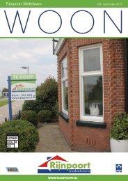 Rijnpoort Makelaars WOON magazine #39, uitgave september 2017