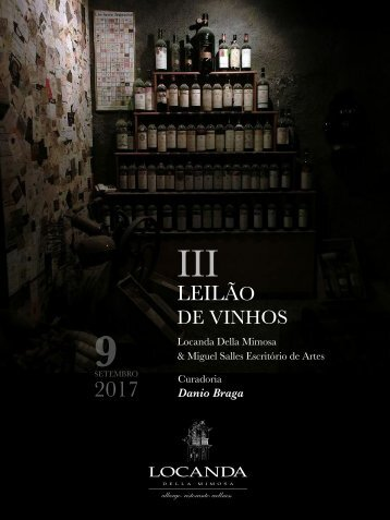 Catálogo do III Leilão de Vinhos - Locanda Della Mimosa - Danio Braga
