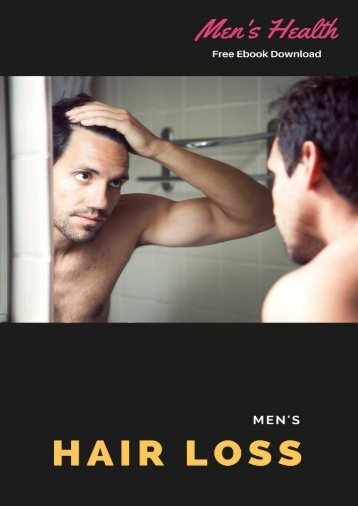 Hair Loss Free Ebook