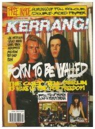 Kerrang No 266 November 25 1989