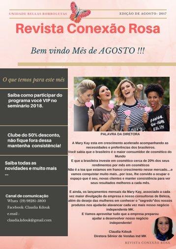 Jornal conexão rosa -Agosto