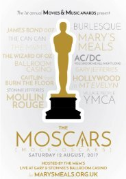 Moscars Booklet