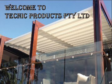 Innovative Retractable Awnings