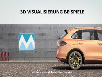 3D VISUALISIERUNG BEISPIELE