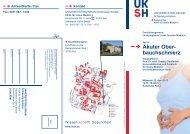 Akuter Ober- bauchschmerz - UKSH Universitätsklinikum Schleswig ...