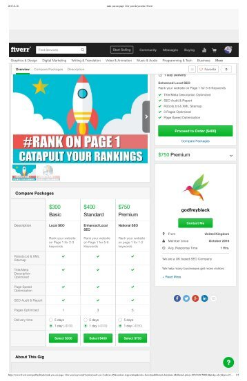 rank you on page 1 for your keywords _ Fiverr