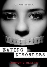 Eating Disorders Free Ebook