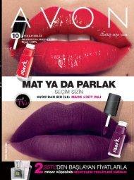 Avon Eylül Katalogu K10