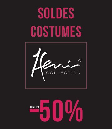 CATALOGUE SOLDES COSTUMES