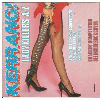 ladykillers kerrang 1989