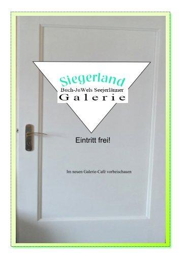 Siegerland: Seejerlänner Galerie erweitert
