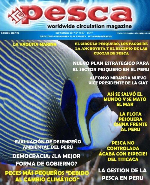 REVISTA PESCA SETIEMBRE 2017