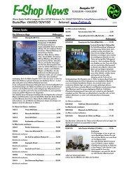 Bestellfax: 06082/924188 – Internet: www.f-shop.de - Ulisses Spiele