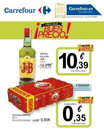 Folleto Carrefour ¡mira-que-buen-precio! hasta 11 de Septiembre 2017