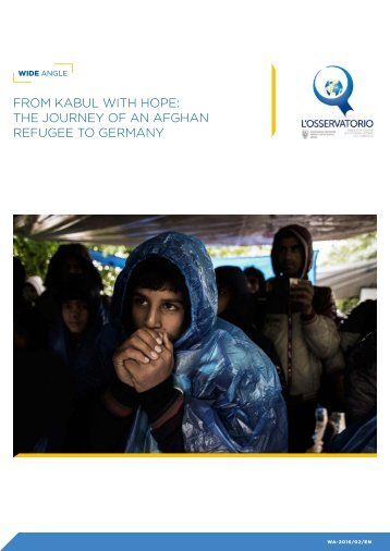 From Kabul with Hope - The journey of an Afghan refugee to Germany