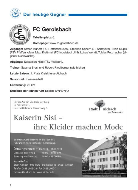 VfLAktuell_04_10/11 - VfL Ecknach