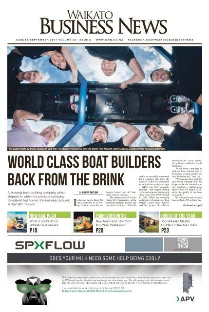 Waikato Business News August/September 2017